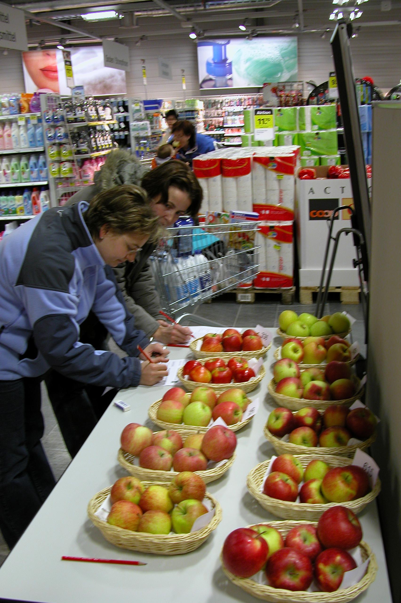 Nagelprobe für neue Apfelsorten